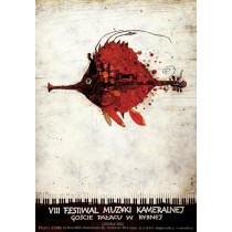 Music Festival in Rybna, VIII. Ryszard Kaja Polish Poster