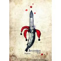 Satyrykon 2015 Ryszard Kaja Polish Poster