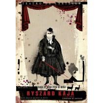 Teatro de Carteles Nada de moda está de moda La Paz Ryszard Kaja Polish Poster