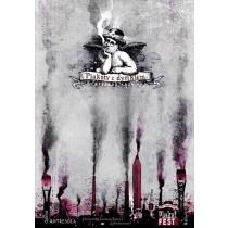 Posters with the haze in Chorzów Ryszard Kaja Polish Poster