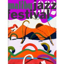 Malibu Jazz Fest Leonard Konopelski Polish Poster