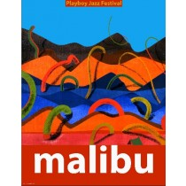 Malibu Playboy Jazz Festival Leonard Konopelski Polish Poster