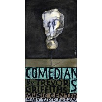 Comedians and Trevor Griffiths Music Center Leonard Konopelski Polish Poster
