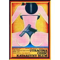 The Lost Honor of Katharina Blum Volker Schlöndorff Andrzej Krajewski Polish Poster