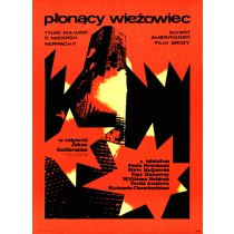 Towering Inferno John Guillermin Andrzej Krajewski Polish Poster
