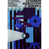 Those Wonderful Men with a Crank Jiri Menzel Andrzej Krajewski Polish Poster