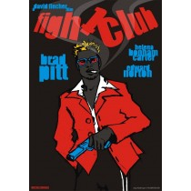 Fight Club David Fincher Michał Książek Polish Poster