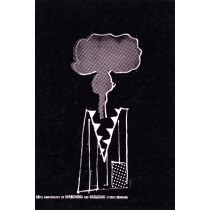 Hiroshima Nagasaki 60 years Sebastian Kubica Polish Poster