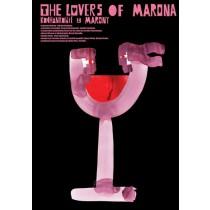 Lovers of Marona Izabella Cywińska Sebastian Kubica Polish Poster