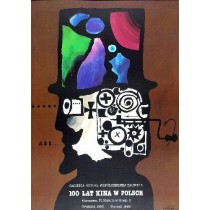 100 Years of Cinema in Poland Jan Lenica Polish Poster