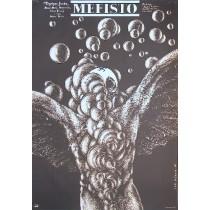 Mephisto Istvan Szabo Lech Majewski Polish Poster