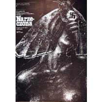 Fiancee Günther Rücker Lech Majewski Polish Poster