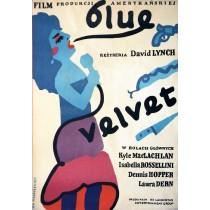 Blue Velvet Jan Młodożeniec Polish Poster