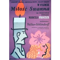 A Love of Swann Volker Schlöndorff Jan Młodożeniec Polish Poster