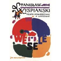 Wedding. Stanisław Wyspiański Jan Młodożeniec Polish Poster
