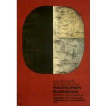 Conscience Jan Młodożeniec Polish Poster