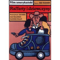 Rafferty and the Gold Dust Twins  Jan Młodożeniec Polish Poster