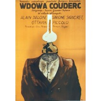 Widow Couderc Pierre Granier-Deferre Jacek Neugebauer Polish Poster