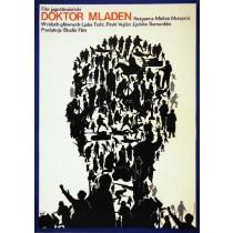 Doctor Mladen Midhat Mutapdzic Jacek Neugebauer Polish Poster
