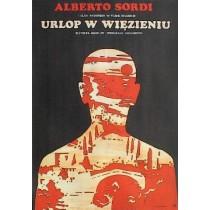 In Prison Awaiting Trial Nanni Loy Jacek Neugebauer Polish Poster