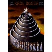 King Roger Rafał Olbiński Polish Poster
