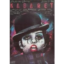 Cabaret Bob Fosse Andrzej Pągowski Polish Poster