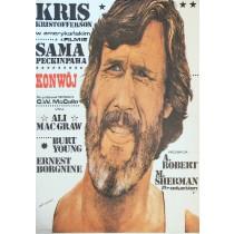 Convoy Sam Peckinpah Andrzej Pągowski Polish Poster