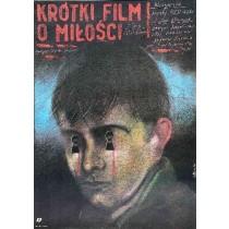 A Short Film About Love Krzysztof Kieślowski Andrzej Pągowski Polish Poster