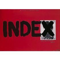 Index Janusz Kijowski Andrzej Pągowski Polish Poster
