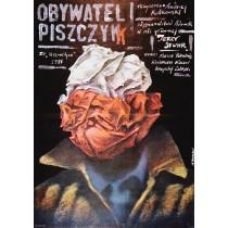 Citizen Piszczyk Andrzej Kotkowski Andrzej Pągowski Polish Poster