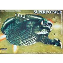 Gamera Super Monster Noriaki Yuasa Marek Płoza-Doliński Polish Poster