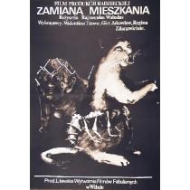 Echange Raimondas Vabalas Marek Płoza-Doliński Polish Poster