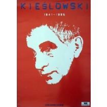Krzysztof Kieślowski red Jan Bokiewicz Polish Poster