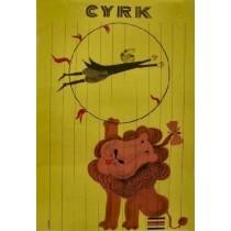 Circus Antoni Cetnarowski Polish Poster