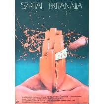 Britannia Hospital Lindsay Anderson Teresa Jaskierny Polish Poster