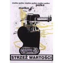 Big Mother Guard The Tradition Bogna Otto-Wegrzyn Polish Poster