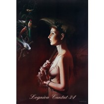 Legnica Cantat 34 Wojciech Siudmak Polish Poster
