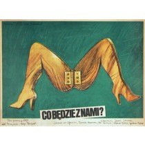 How About You And Me? Helge Trimpert Krzysztof Bednarski Polish Poster