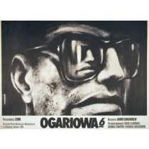 Ogaryova Street, Number 6 Boris Grigorev Krzysztof Bednarski Polish Poster