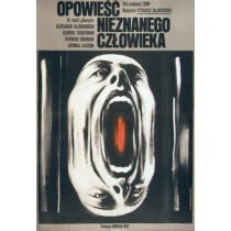 Story of an Unknown Man Vytautas Zalakevicius Krzysztof Bednarski Polish Poster