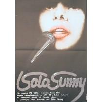Solo Sunny Konrad Wolf Krystyna Hoffman-Pągowska Polish Poster