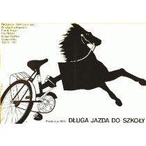 Long ride to school Rolf Losansky Elżbieta Procka Polish Poster
