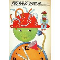 Kam doskace ranni ptace Drahomira Kralova Elżbieta Procka Polish Poster