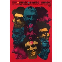 Smic, Smac, Smoc Claude Lelouch Ryszard Kiwerski Polish Poster
