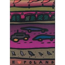 I love Poland Weronika Ratajska Polish Poster