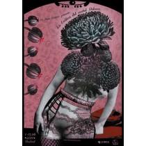 La Erotica del cartel Polaco Kaja Renkas Polish Poster