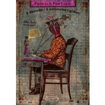 Polnisch Poetisch Buchbund Kaja Renkas Polish Poster