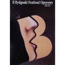 Opera Festival in Bydgoszcz, 2nd Wiesław Rosocha Polish Poster
