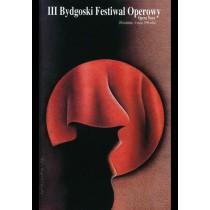 Opera Festival in Bydgoszcz, 3rd Wiesław Rosocha Polish Poster
