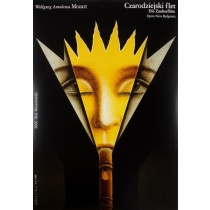 Magic Flute Wiesław Rosocha Polish Poster